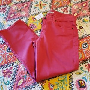 NWT Rich & skinny faded red skinny jeans